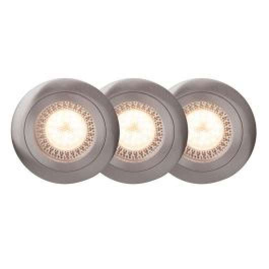Easy Clip downlight satin 3 st